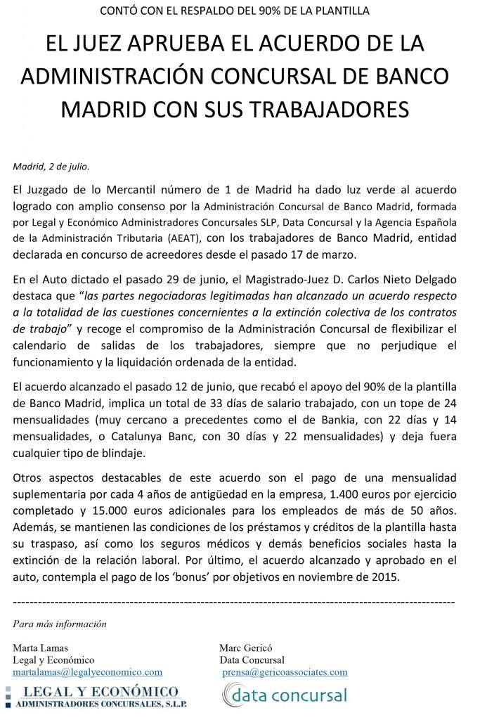Microsoft Word - 03.07.15- JUEZ APRUEBA EL ACUERDO DE AC BM CON