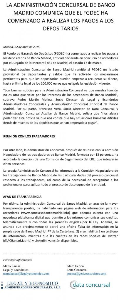 Microsoft Word - LA ADMINISTRACION CONCURSAL DE BANCO MADRID COM