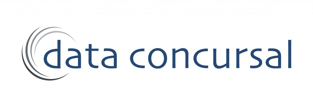 Logotipo Data Concursal azul