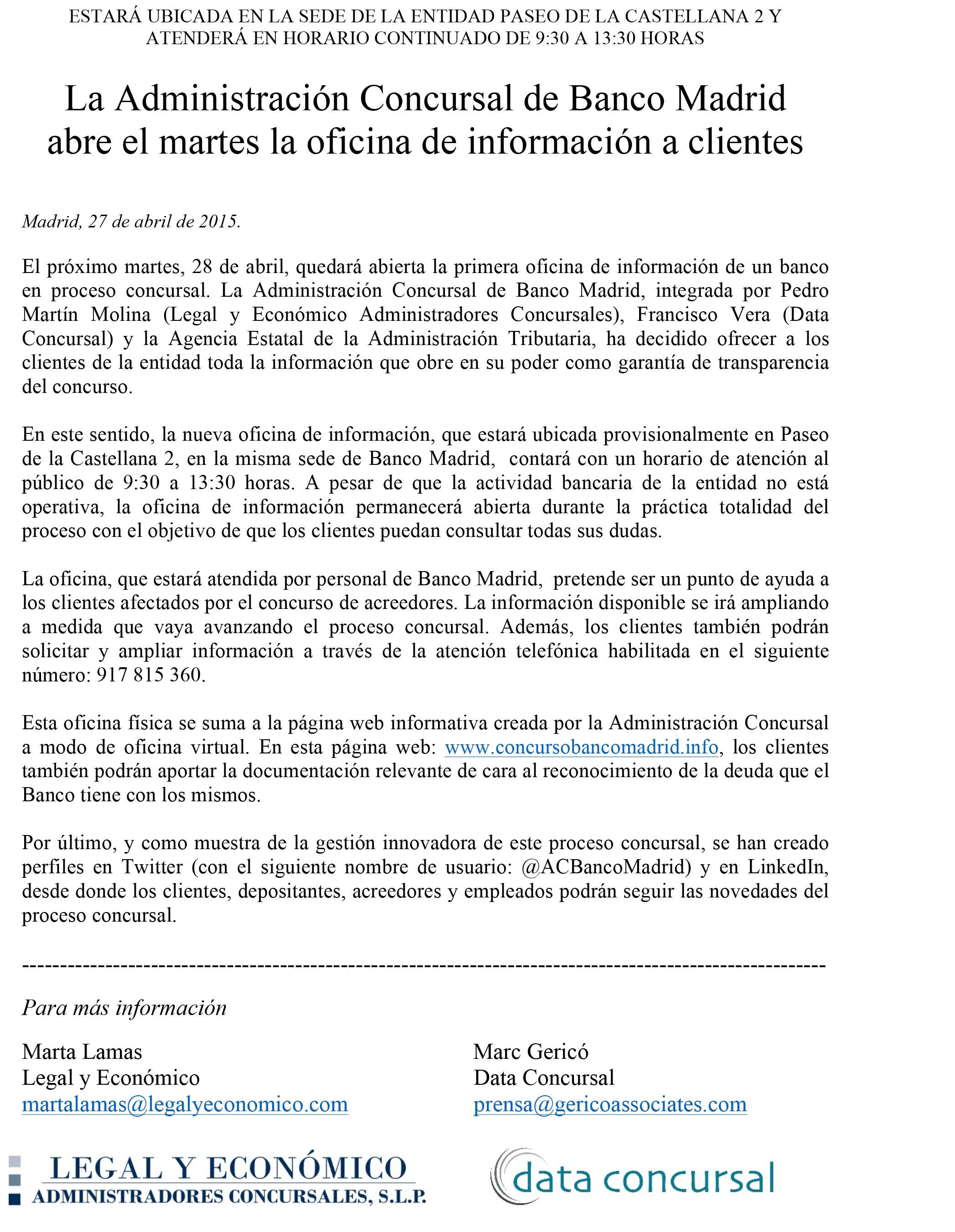 Microsoft Word - La Administración Concursal de Banco Madrid -1